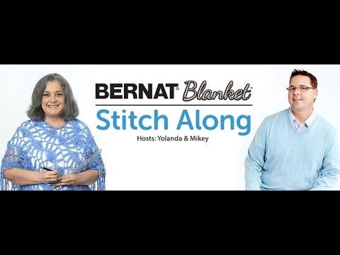 Bernat  Stitch Along :  Week 3