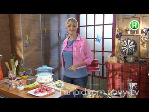Цветное тесто для вареников и