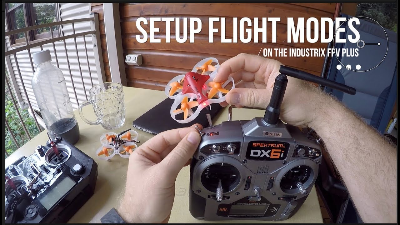 How to setup flight modes on the Inductrix FPV + (Plus) with a