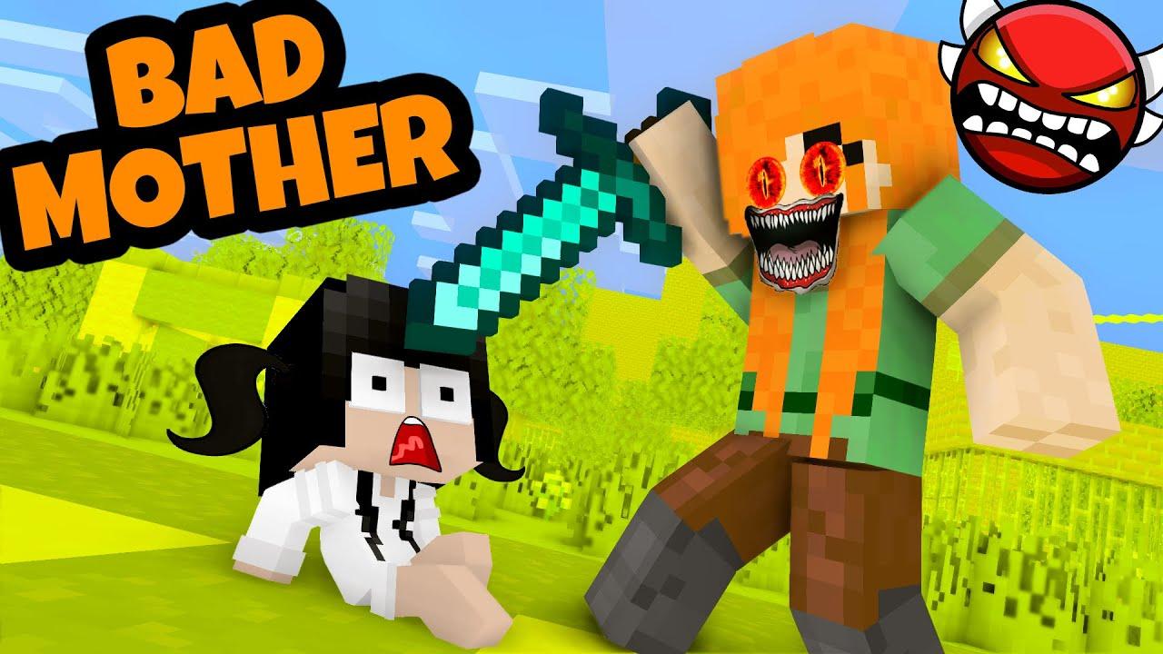 Monster School : POOR BABY SADAKO - SADAKO Bad Mother - Minecraft Animation