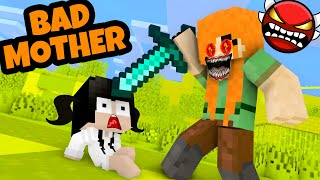 Monster School : POOR BABY SADAKO - SADAKO Bad Mother - Minecraft Animation