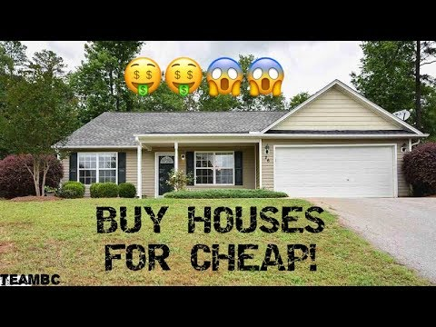 HOW TO BUY HOMES FOR PENNIES ON THE DOLLAR!