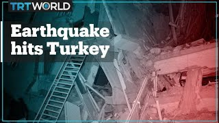 A 6.8 magnitude earthquake hits Turkey's eastern city of Elazig