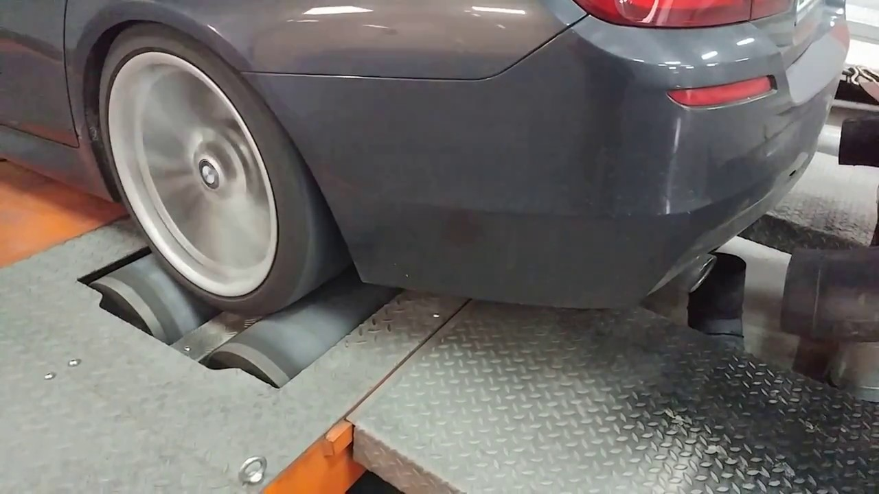 BMW F10 535D 450PS with DPF - Dyno powered by TC-PERFORMANCE