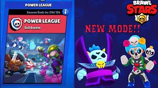 New Game Mode - Power League | Brawl Stars