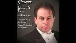 William Boyce: Voluntary No.1 for Trumpet, Organ, Harpsichord and Timpani