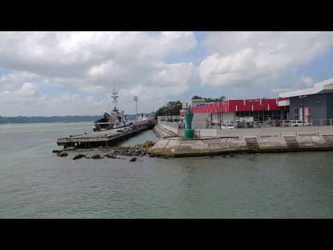 Departure from ILOILO RORO PORT to JORDAN PORT GUIMARAS