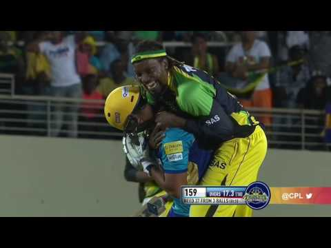 Gayle rides to victory! Amazing Cricket Video Footage