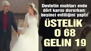68 yaşındaki muhtar 5. evliliğini 19 yaşındaki kızla yaptı | Son dakika haberleri