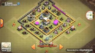 Clash of Clans Gameplay #1 Clan krieg wird leicht