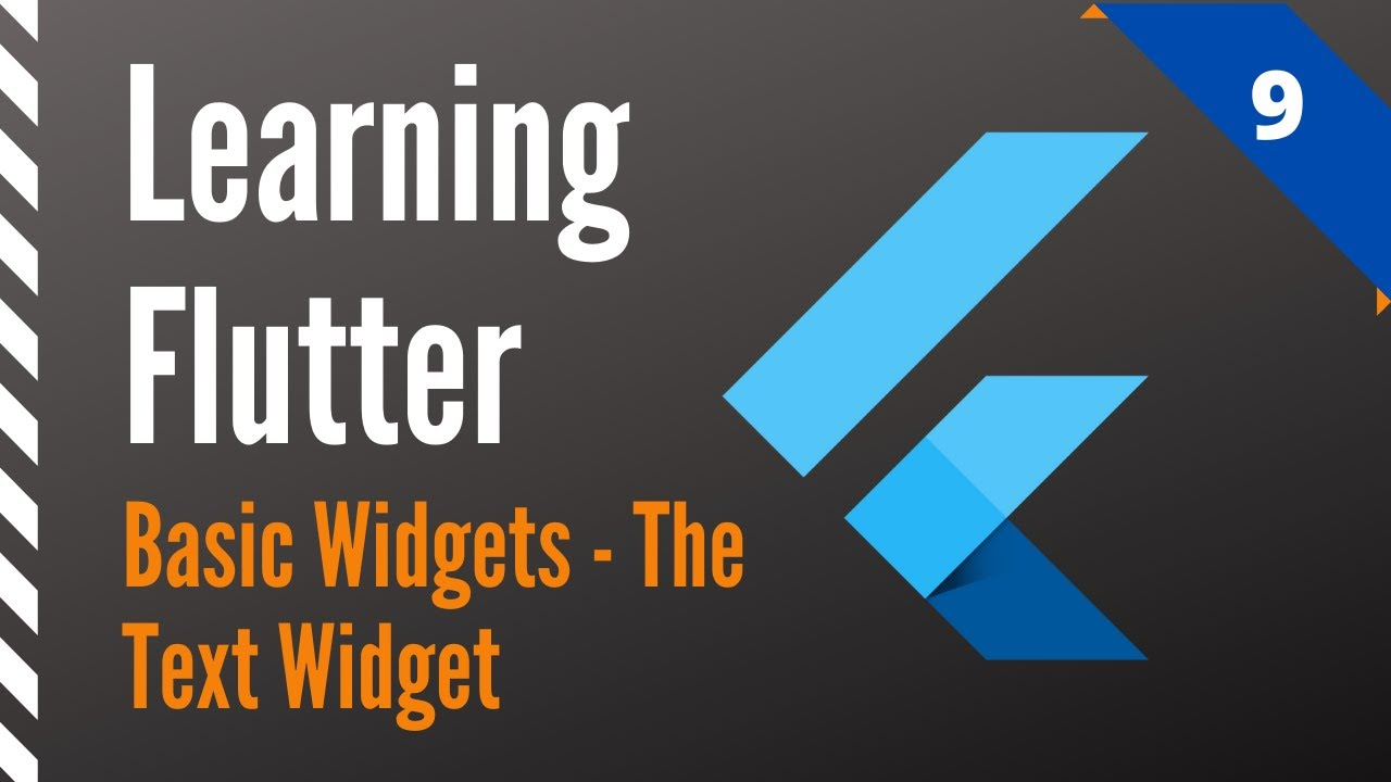 Learning Flutter, Part 9, Basic Widgets-The Text Widget