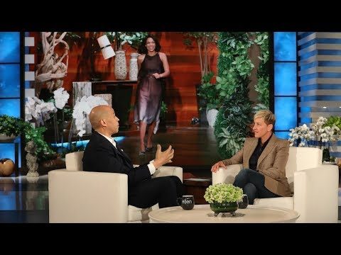 Cory Booker Gushes Over Rosario Dawson to Ellen DeGeneres