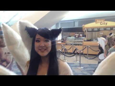 Wild Costplay Costume On Hot Woman Talk Of WonderCon