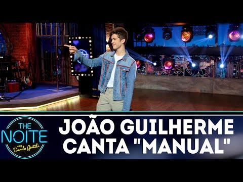 João Guilherme canta Manual | The Noite (25/07/18)
