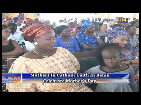 Mothers In Catholic Faith In Benin Celebrate Mother's Day