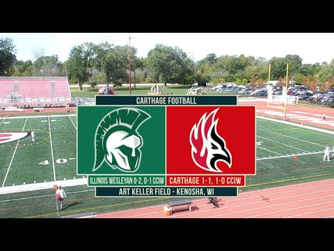 Download Carthage Football vs. Illinois Wesleyan 2021_9_25