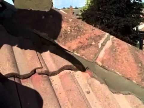 Re Fixing Roof Tiles Ridge Free Estimates Youtube