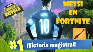 CAP 1. WORLD IN FORTNITE: MESSI (PEAU ARGENTINE)