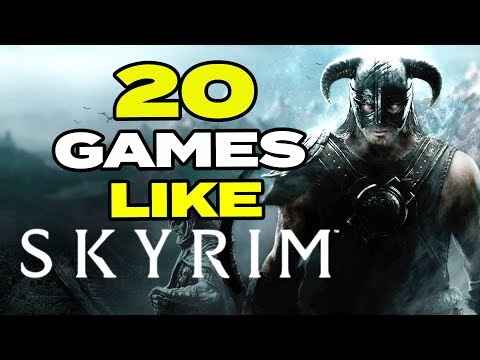 TOP 20 BEST Games Like Skyrim For Android & IOS | Open World Games