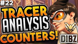 Tracer Coaching + Analysis | Dealing With Counters & Improving Game Sense - Masters 3583 SR
