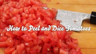 How to Peel and Dice Tomatoes