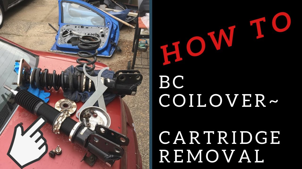 BC Coilover ~ Cartridge Removal