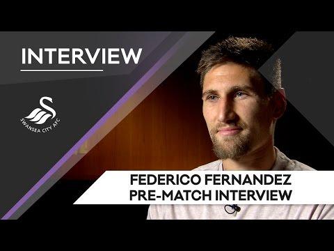 Swans TV - Pre-match: Federico Fernandez on Leicester City