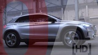 2013 Mercedes-Benz Concept GLA Driving [HD] (Option Auto News)