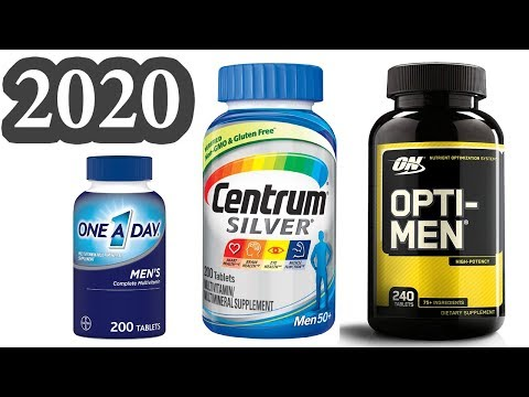 Top 10 Best Multivitamins for Men 2020