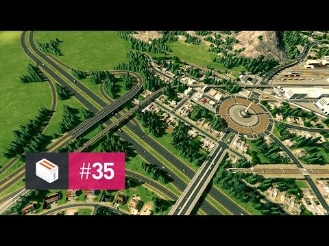 Let's Design Cities Skylines — EP 35 — The Nations Plaza