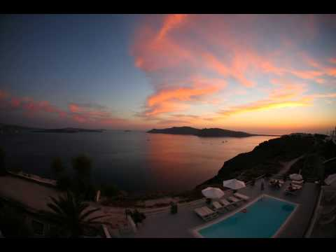 Time Lapse Sunset from Oia Suites