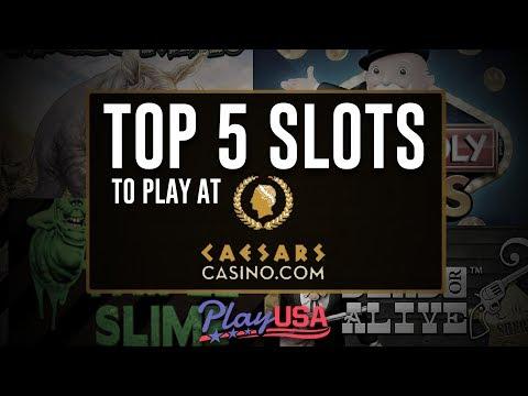 Top 5 Online Slots At Caesars Online Casino | Real Money Slots | $25 Free - No Deposit!