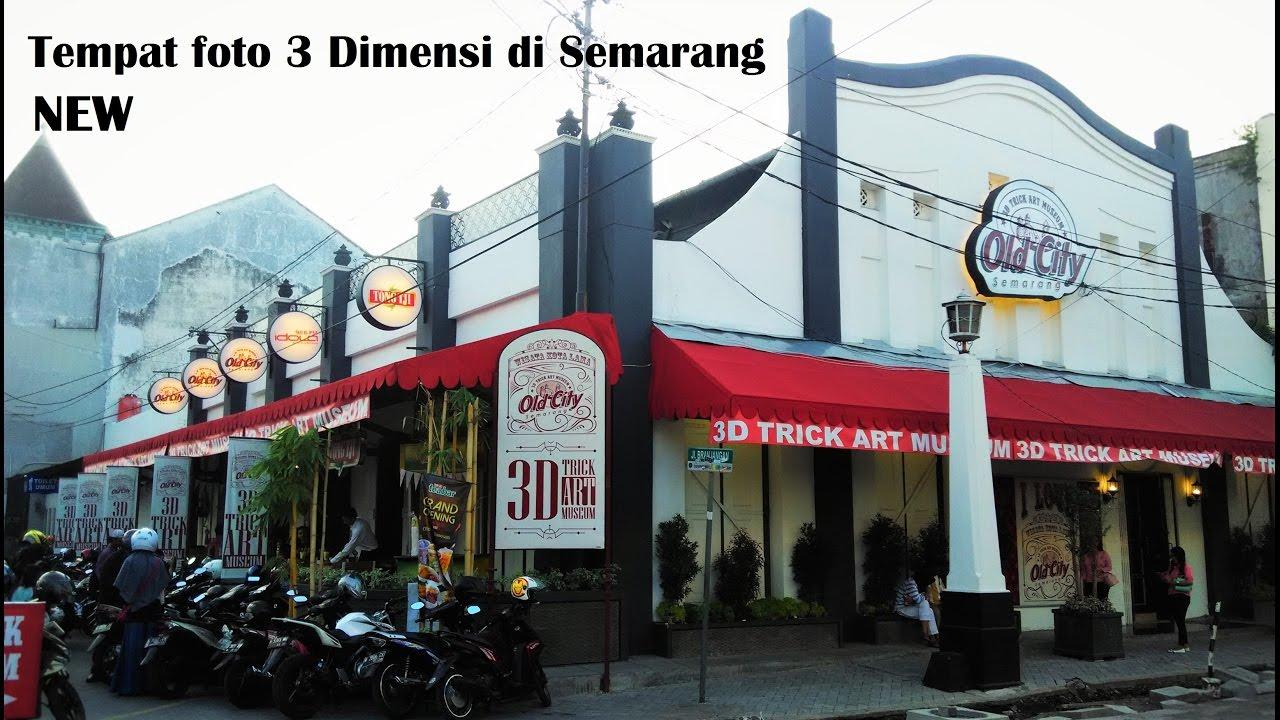 Wisata Baru Semarang 3d Trick Art Museum Kawasan Kota Lama