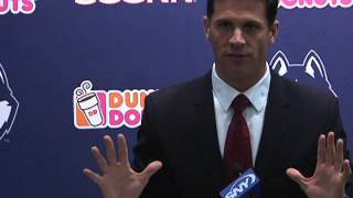 UConn Football Weekly Press Conference: Diaco on Turnover Margin