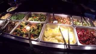 Безлимитная еда в Американском Буфете! - Отмечаем ДР. Подарок от Ильи Koryfan