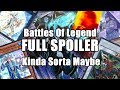"FULL SET SPOILER FOR BATTLES OF LEGEND (Kinda Sorta Maybe?) - Source ""Zodiac Duelist"" Shown Here. mp3 indir"