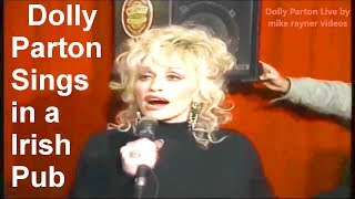 Country Music, Dolly Parton Sings Coat Of Many Colors Live in a Irish Pub, Best Folk Songs