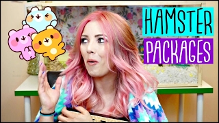 UNBOXING SURPRISE HAMSTER SUPPLY PACKAGES! | ⭐️MY DREAMS CAME TRUE⭐️ thumbnail