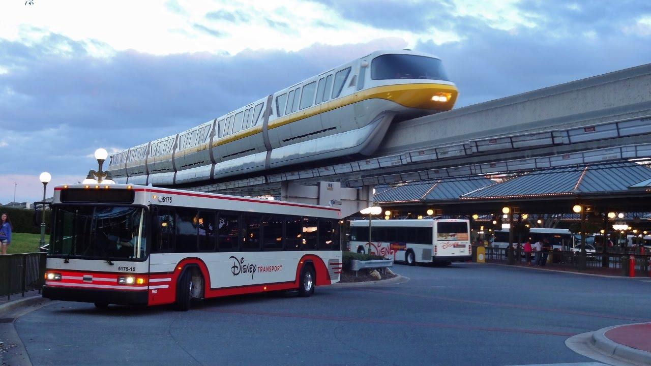 Walt Disney Bus and Monorail