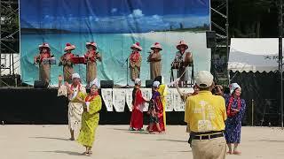 大正エイサー祭り2017 関西やいまー会のマミドーマ、鳩間の港、弥勒節
