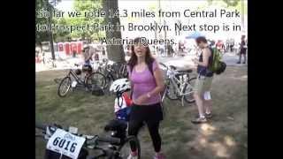 Transportation Alternatives 25th Annual NYC Century Bike Tour