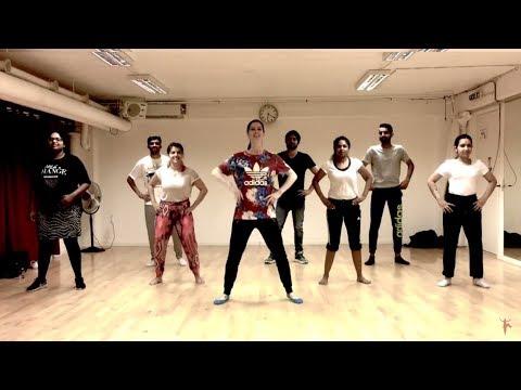 HIGH RATED GABRU | Guru Randhawa | Bhangra workshop with Christine | DJ Twinbeatz