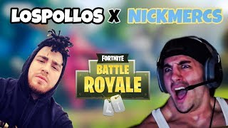 LosPollosTv & Nickmercs Funniest Duos On Fortnite (Nickmercs Trolling LosPollos)😂