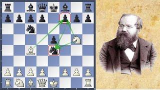 #3. Часть 1. Ловушки в шахматах. Хитрая ловушка)) Гамбит Понциани- Стейница