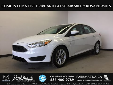 WHITE 2015 Ford Focus Review Sherwood Park Alberta - Park Mazda