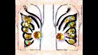ESPECIAL ADESIVETES BORBOLETA / SPECIAL BUMPER STICKERS BUTTERFLY