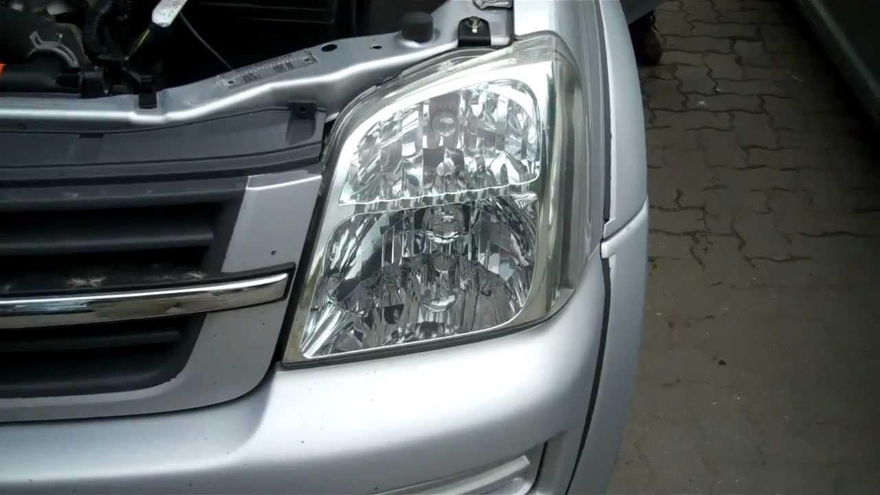 How To Change Front Indicator Bulb On Isuzu / Chevrolet