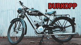 Мотоцикл Durkopp. Реставрация от мотоателье Ретроцикл. / Видео
