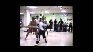 Syracuse Hmong New Year 1991-1992 Kung fu / muay thai demo-2