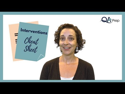 Therapy Interventions Cheat Sheet For Case Notes YouTube